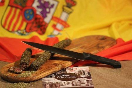 Spaanse worst. Tuinkruiden (Spanje)