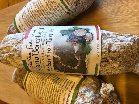Italiaanse worst. Salamino truffel (Italie)