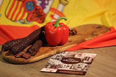 Spaanse worst. Paprika (Spanje)